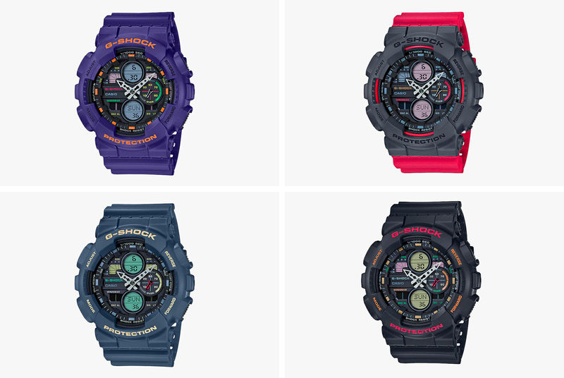 90s Urban Timepiece Collections - The Casio G-SHOCK GA140 Series Has a Retro Fashion Flair (TrendHunter.com)