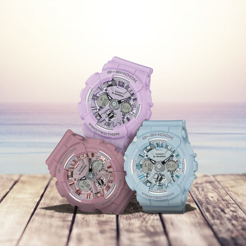 Tough Pastel Timepieces