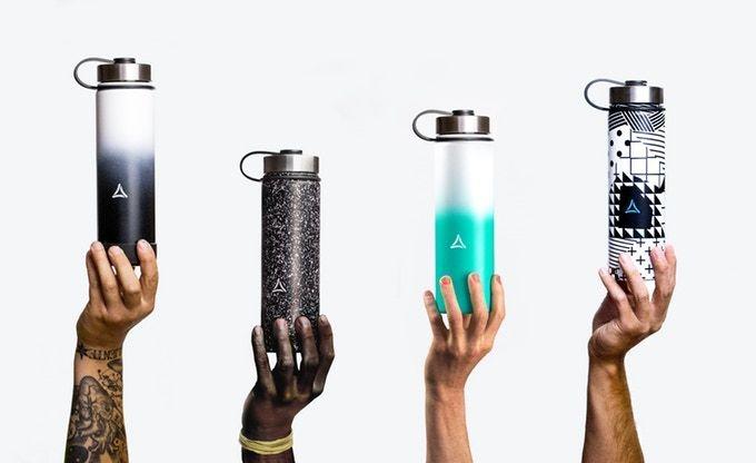 Artistic Vacuum-Insulated Bottles