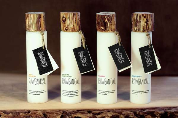 Luxurious Wooden Lotion Lids