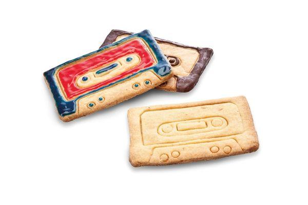 Nostalgic Cassette Cookie Cutters