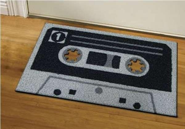 Cassette Tape Doormats