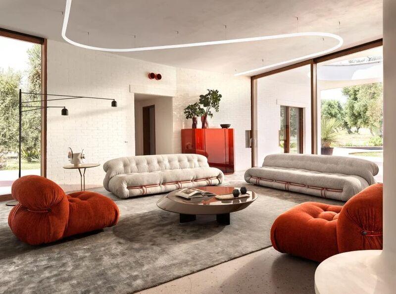 Curvaceous Postmodern Furniture