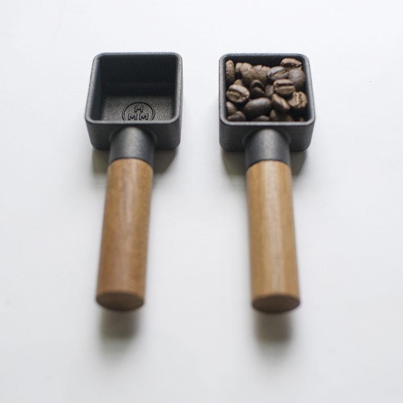 Cast Iron Coffee Scoops