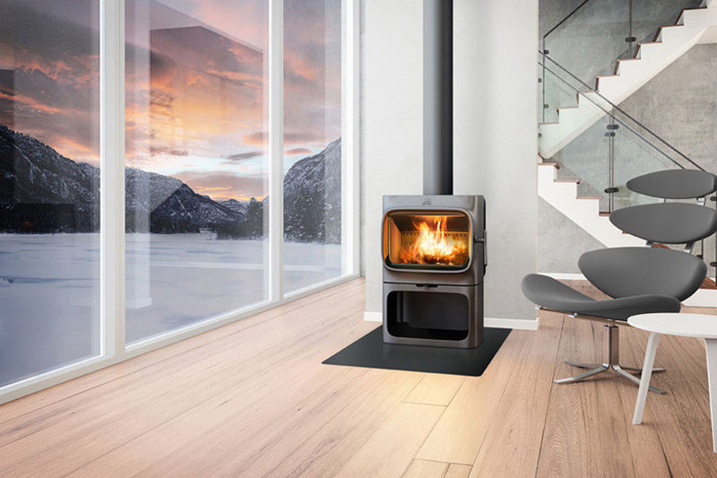 Sleek Iron Stoves