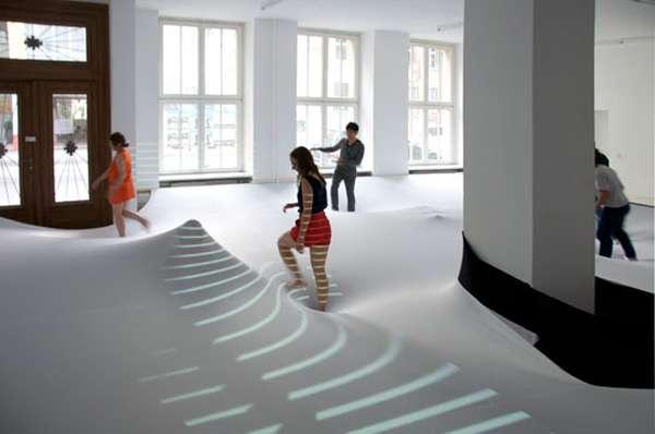 Indoor Quicksand Installations