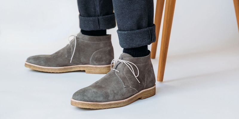 Luxurious Casual Chukka Boots