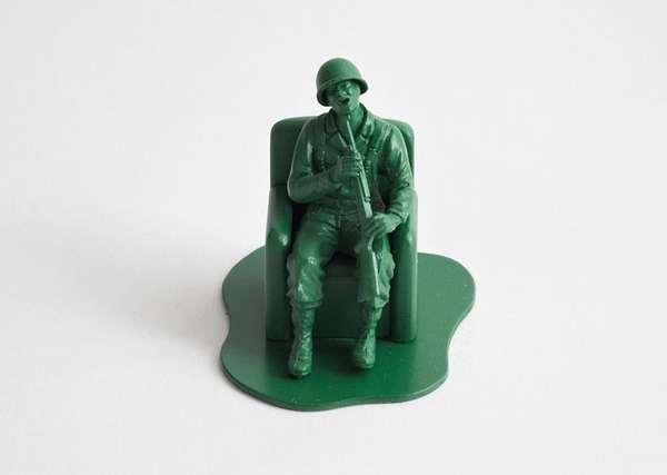 Disturbed Soldier Dioramas