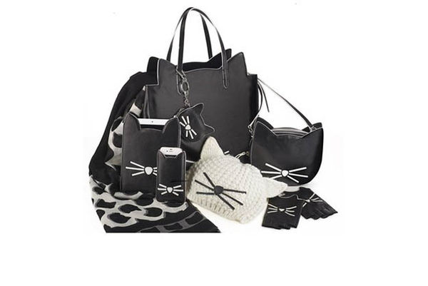 Achromatic Feline Accessories