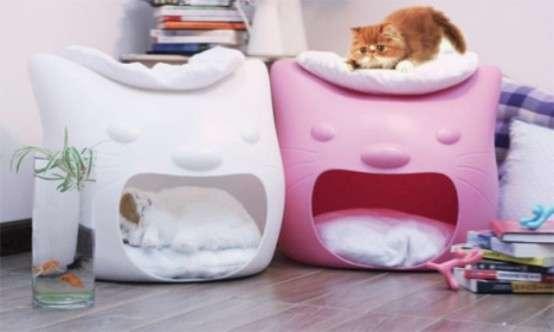 Yawning Feline Shelters