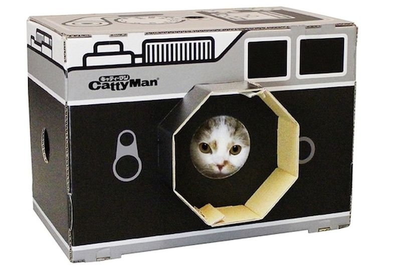 Camera-Shaped Scratch Pads