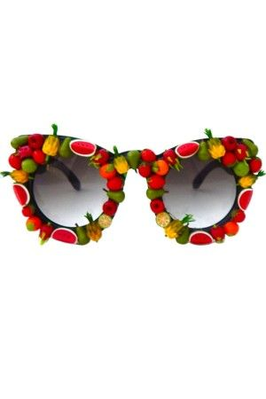 Decorative Fruit Sunglasses