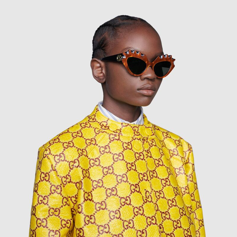 Avant-Garde Sculptural Sunglasses
