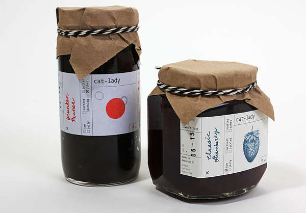 Wholesome Homemade Jam Packaging