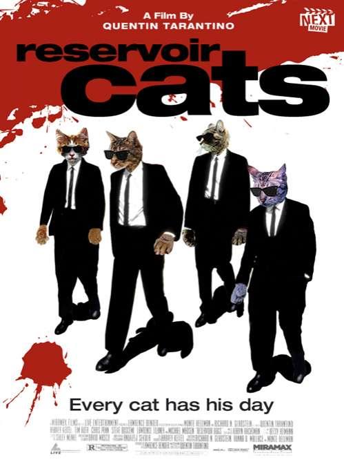 Famous Feline Films  Cat Movie Posters