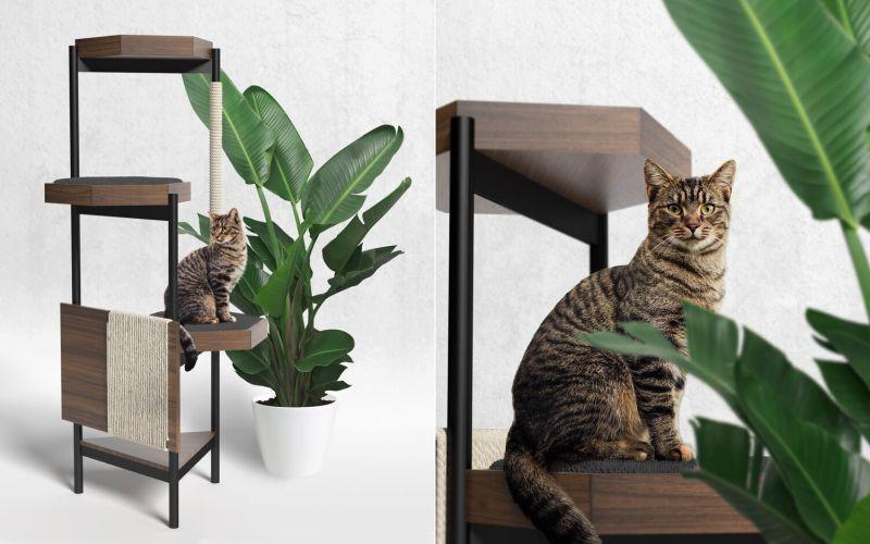 Elegant Feline Relaxation Towers