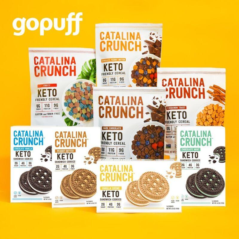 On-Demand Keto Cereal Deliveries