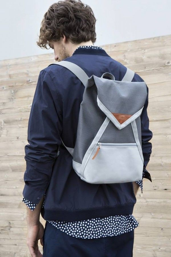 Envelope-Inspired Backpacks