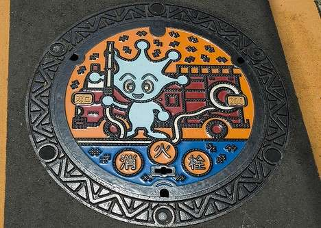 Manhole Covers as Art