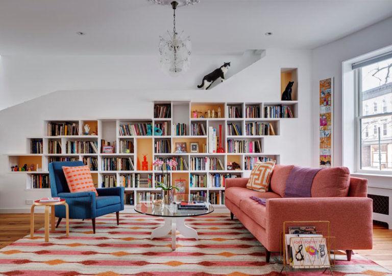 Cat-Friendly Bookshelves
