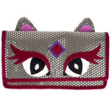 Feline-Faced Purse Accessories