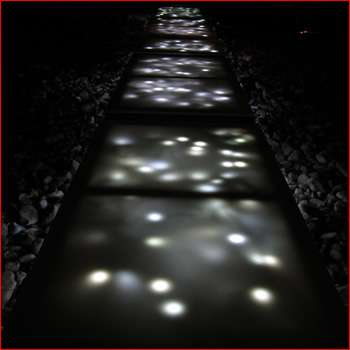 Illuminated Catwalk Sidewalks