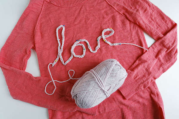 Endearing Message Sweaters