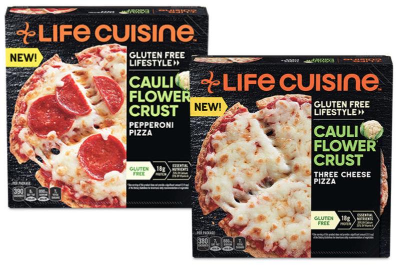 Protein-Packed Cauliflower Pizzas