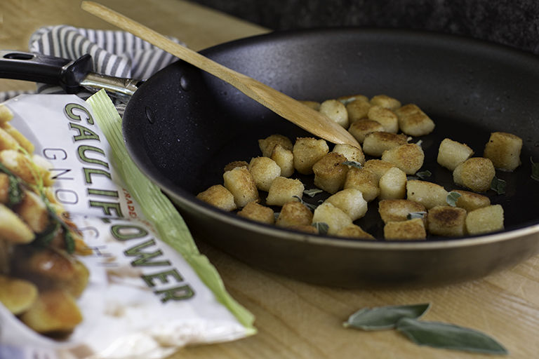 Cauliflower-Based Gnocchi