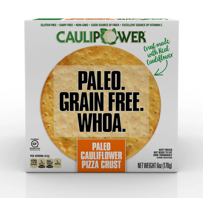 Paleo Cauliflower Pizza Crusts