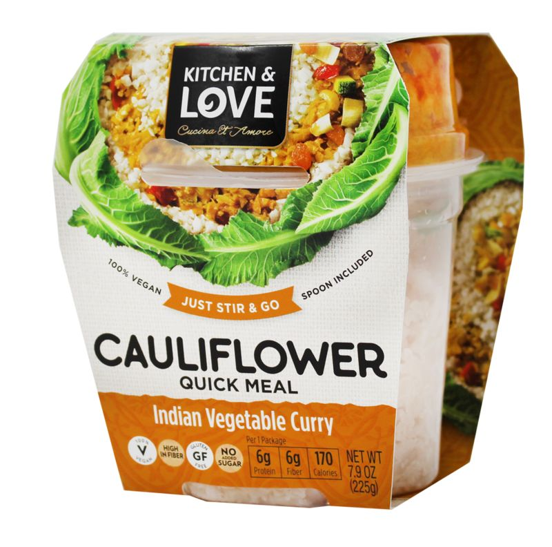 Cauliflower Meal Cups