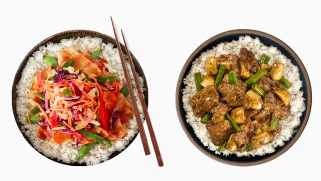 Vegetable Rice Substitutes