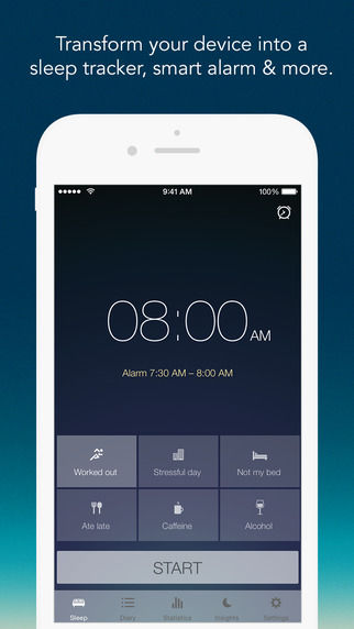Data-Tracking Sleep Apps