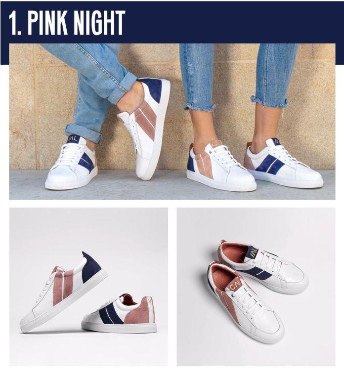 Unique Mismatched Sneakers