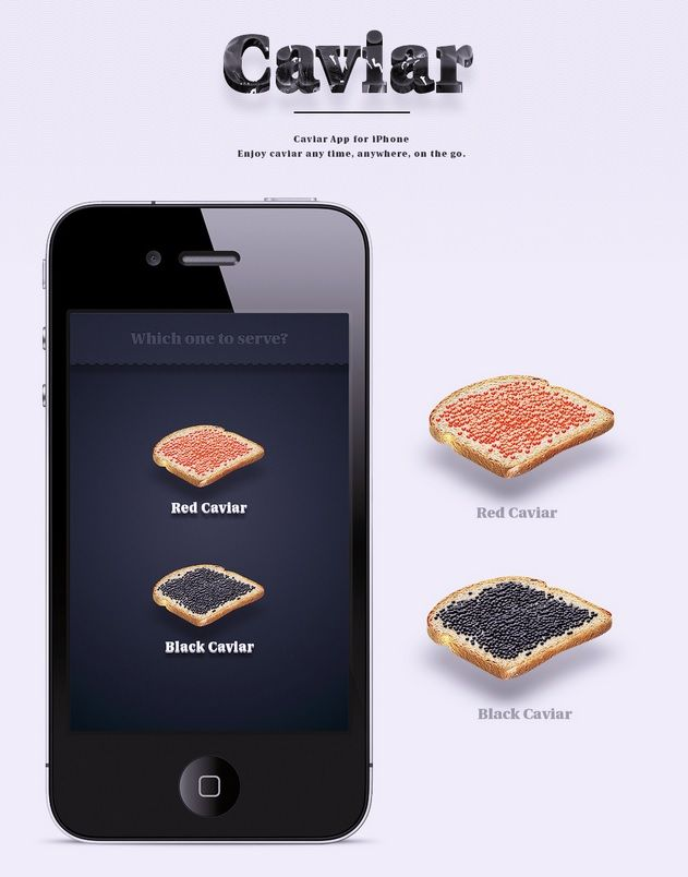 Virtual Caviar Apps