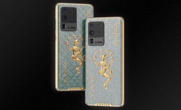 Opulent Jewel-Encrusted Smartphones