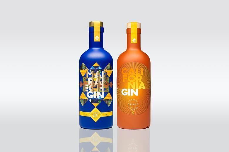 Regionally Inspired Gin Spirits