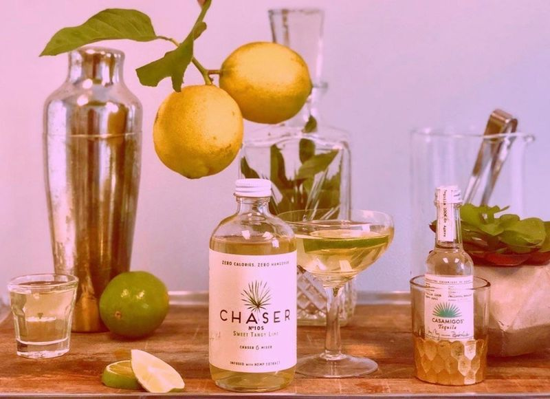 CBD-Infused Cocktail Mixers