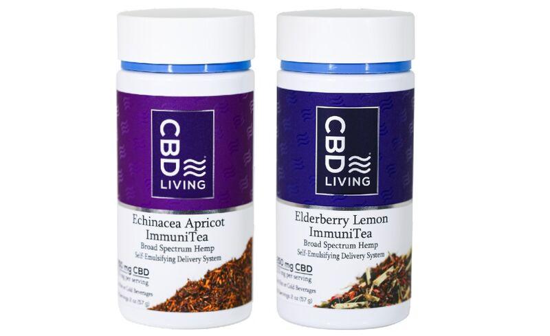 Relaxing Loose-Leaf CBD Teas