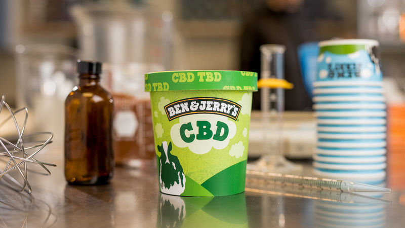 CBD-Infused Ice Creams