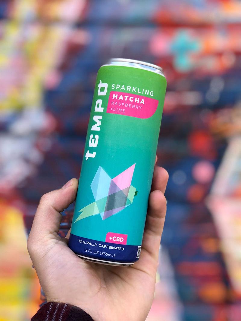 CBD-Infused Matcha Beverages
