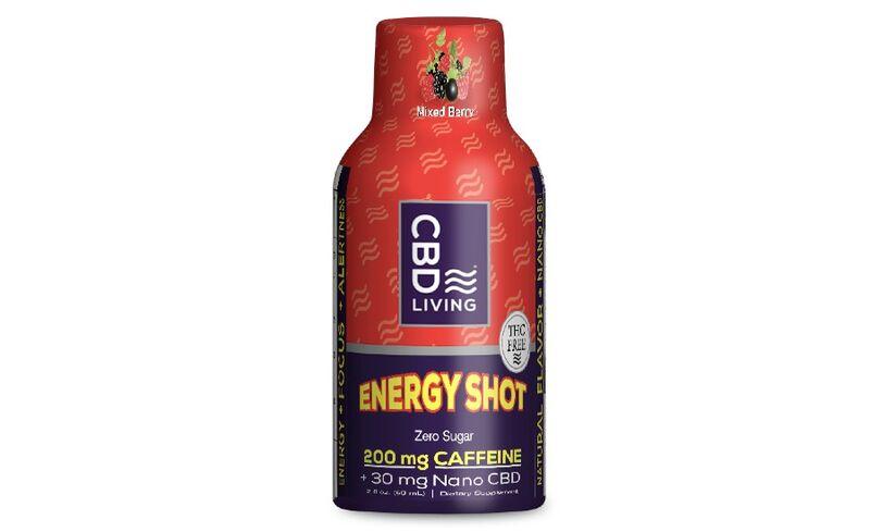 Caffeinated CBD Shots