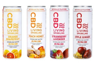 Effervescent CBD-Infused Refreshments