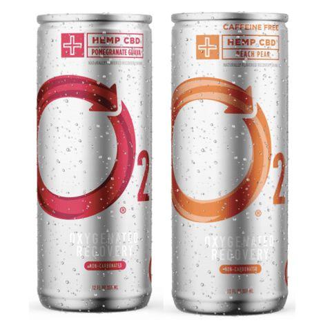 Oxygenated CBD Recovery Drinks