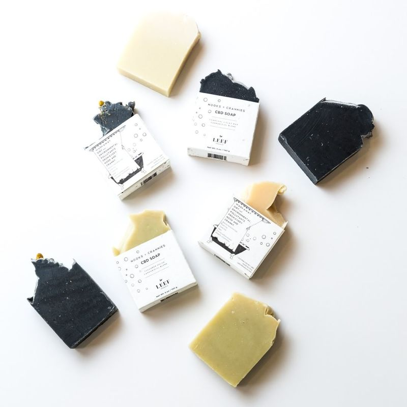 Relieving CBD Soaps