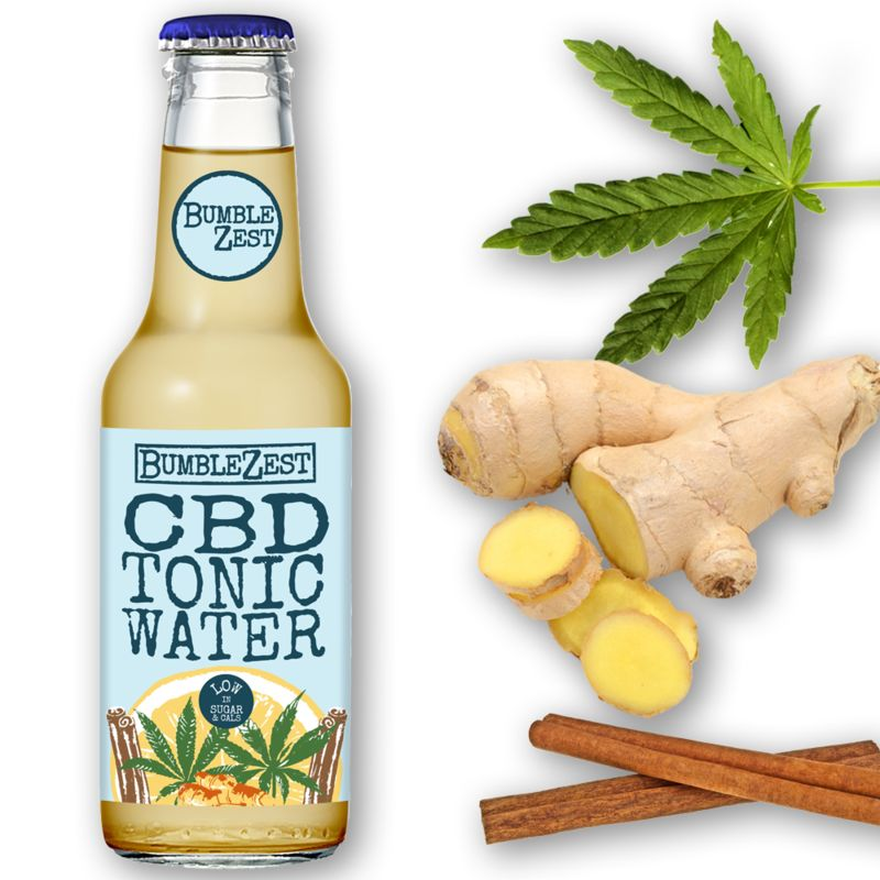 Low-Calorie CBD Tonic Waters