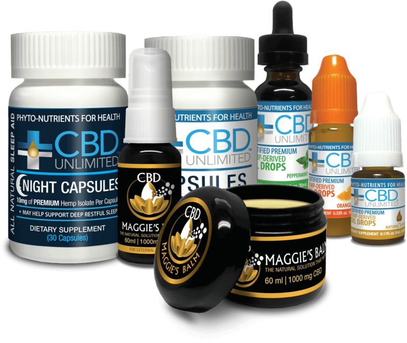 Pain-Relieving CBD Products
