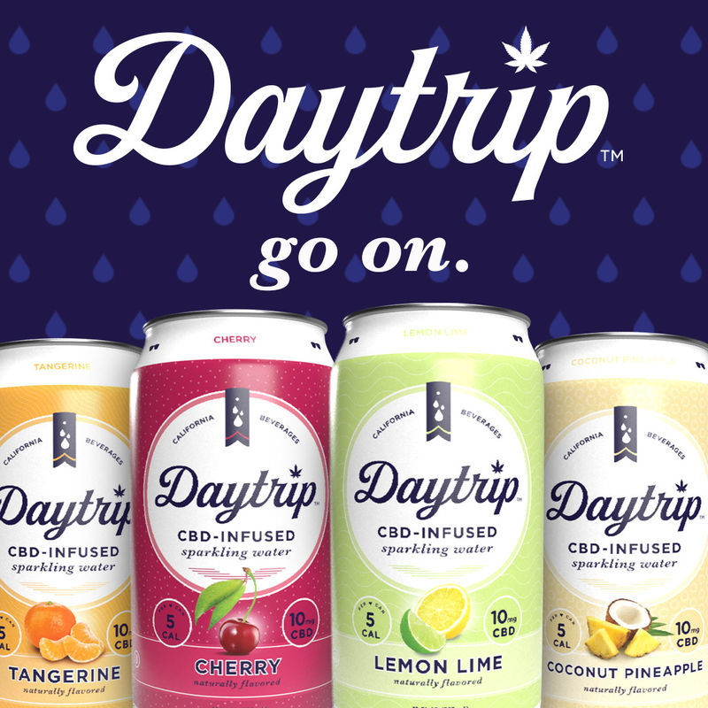 Fruity CBD-Infused Sparkling Water
