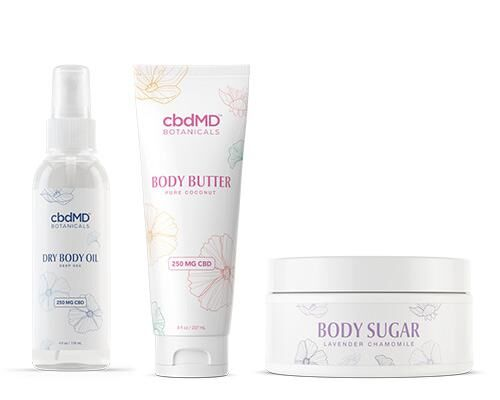 CBD-Enriched Body Products