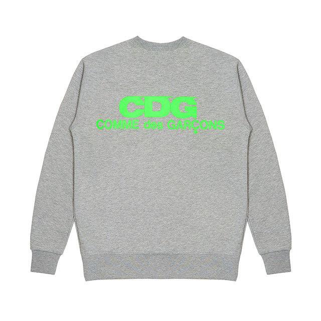Neon Logo Stamped Streetwear Cdg